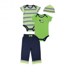 YOGA SPROUT 4-PIECE GIFT SET GREEN TURTLE